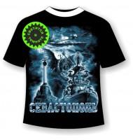 Подростковая футболка История Севастополя 944