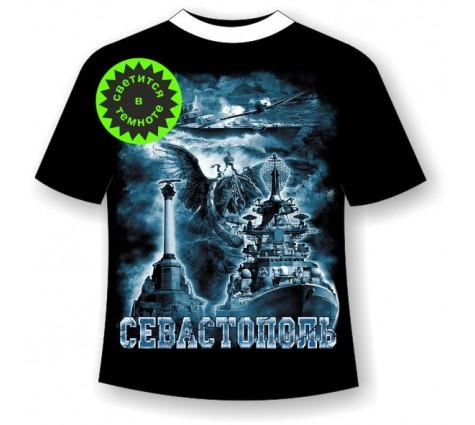 Подростковая футболка История Севастополя