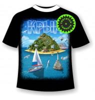 Подростковая футболка Крым остров 948