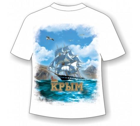 Подростковая футболка Крым паруса 986