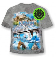 Подростковая футболка Мост коллаж 945 (MM)