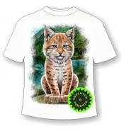 Подростковая футболка Рысенок 984
