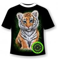 Подростковая футболка Тигренок 976