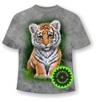 Подростковая футболка Тигренок ММ 976