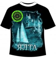 Подростковая футболка Ялта ночная 961