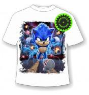 Подростковая футболка Соник 1110