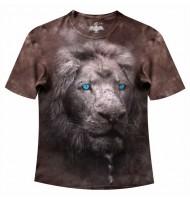 Подростковая футболка Белый лев