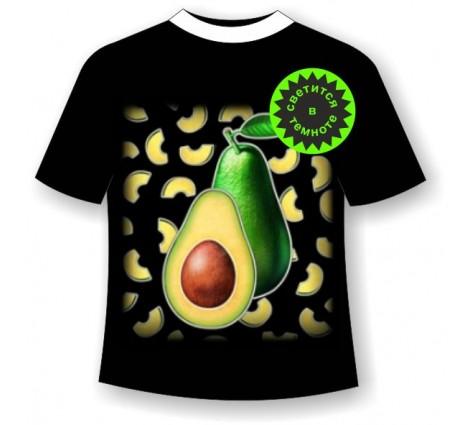 Детская футболка с авокадо