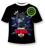 Подростковая футболка Brawl stars crow