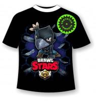 Подростковая футболка Brawl Stars Crow 1084