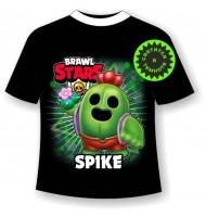 Подростковая футболка Brawl Stars Pike 1104