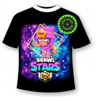 Подростковая футболка Brawl Stars Sandy