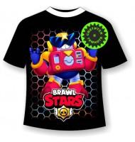 Подростковая футболка Brawl stars Вольт