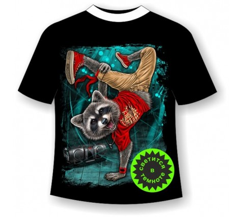 Подростковая футболка Брейк данс