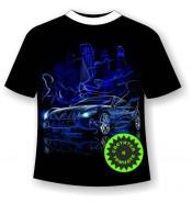 Подростковая футболка Машина сити 1049