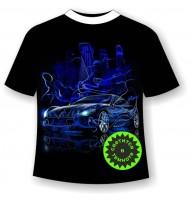 Подростковая футболка Машина сити