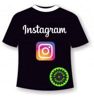 Подростковая футболка Инстаграм