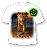 Подростковая футболка Король лев 1093
