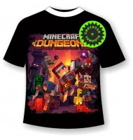 Подростковая футболка Minecraft Dungeons 1120