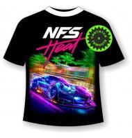 Подростковая футболка NFS heat