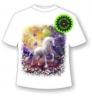 Подростковая футболка Единорог NN 4