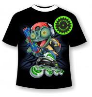 Подростковая футболка с ящерицей
