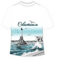 Подростковая футболка Севастополь графити