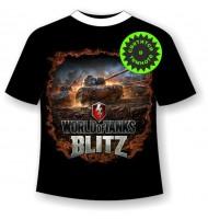Подростковая футболка Танки Блиц