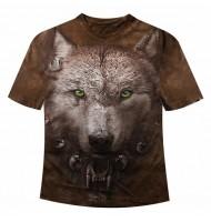 Подростковая футболка Волчонок