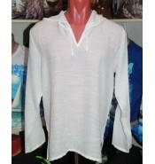 Рубашка марлевая подростковая белая
