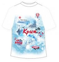 Подростковая футболка Крым 2021