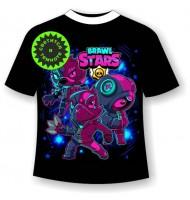 Подростковая футболка Brawl stars Neon 1178