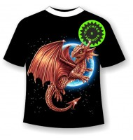 Подростковая футболка Дракон 1154