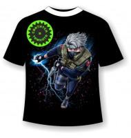Подростковая футболка Какаши 1158