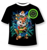 Подростковая футболка Начинающий гитарист 1190