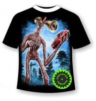 Подростковая футболка Сиреноголовый