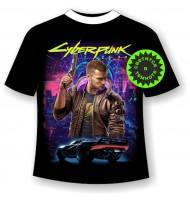 Подростковая футболка Cyberpunk 1168