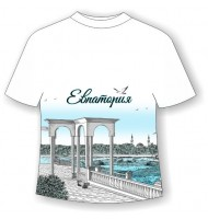 Подростковая футболка Евпатория графити