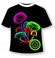 Подростковая футболка с грибами 706