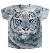 Подростковая футболка Белый тигр KP 117