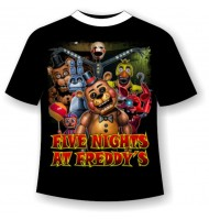 Подростковая футболка Five-nights-at-freddy's