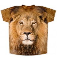 Подростковая футболка Лев KP144