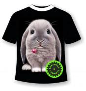 Подростковая футболка с кроликом 930