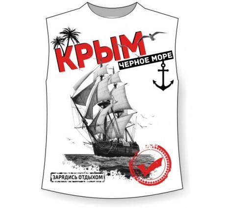 Подростковая безрукавка Крым микс