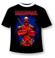 Подростковая футболка Deadpool №723