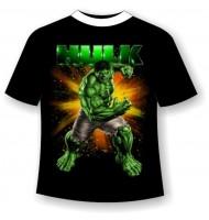 Подростковая футболка Халк 722