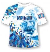 Подростковая футболка Крым-Ромбы