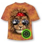 Подростковая футболка Лев клубный ММ 880