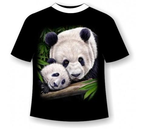 футболка с пандой