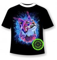 Подростковая футболка Рысь 859